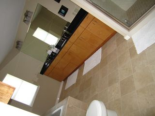 Open and spacious master bathroom. - Austin house vacation rental photo