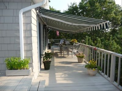 Upstairs Wrap around Deck