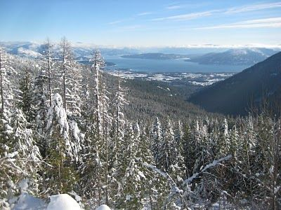 Views from around Sandpoint: From Schweitzer over the lake