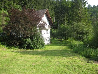 Idyllically located eco-holiday home in the Ötscher hiking paradise