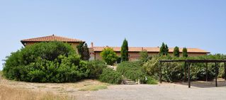 Orbetello villa photo - Villa Duna Grande entry and private parking