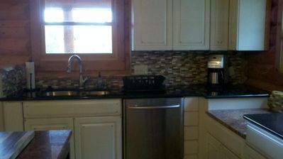 Woodland Park house rental - another view of kitchen