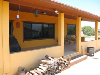 San Quintin house photo - Patio and sundeck.