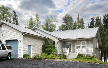 Soldotna house rental - Outside view of the home.