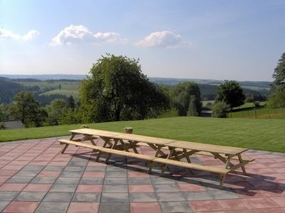 Ardennen: spacious, wheel accessible holiday house, 400m² with a wonderful view