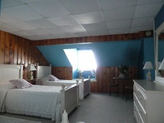 Third floor bedroom. 4 twin beds. - Dewey Beach townhome vacation rental photo