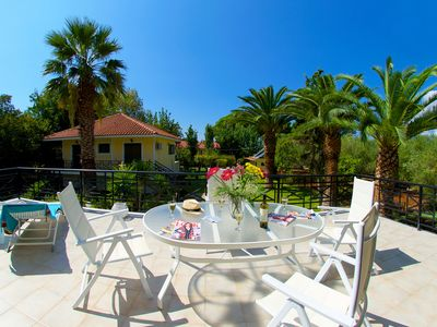 MAKRIS GIALOS VILLAS WITH 2 BEDROOMS 2 MINUTES FROM MAKRIS GIALOS BEACH