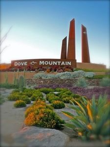 Casa Feliz is located in Dove Mountain, Marana, Arizona - 15 minutes from Tucson