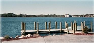 View of free boat dock,  just 3 miles from the condo.