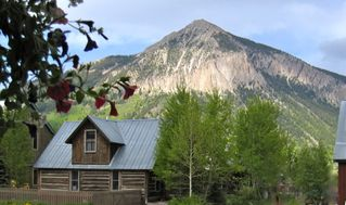 Crested Butte cottage photo - Beautiful Views of Mt Crested Butte From Front Porch!!