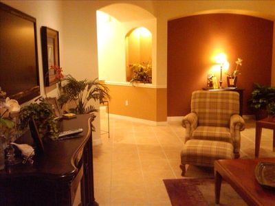 Great Room, from lanai door wall