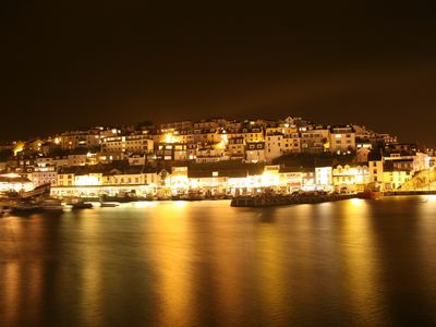 Brixham at night