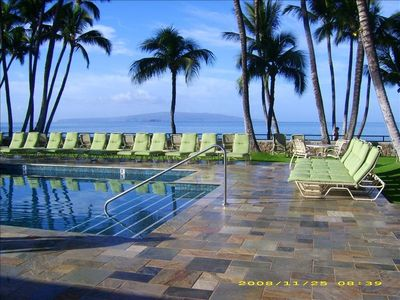 Elua 2502 Pavilion Pool Deck with Ocean View