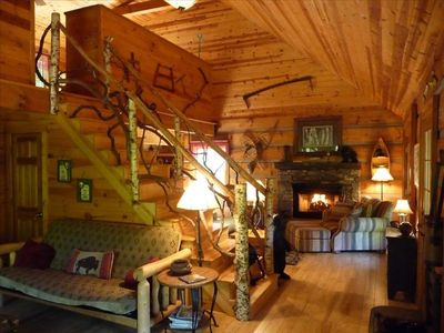 Great room, Great cabin!