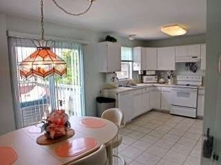 North Unit/ Kitchen and Dining area - Beach Haven townhome vacation rental photo