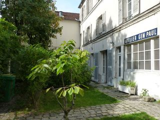 Ancien atelier d 39 artiste r nov en un charmant appartement situ au coeu - Location atelier artiste lyon ...