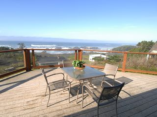 Seal Rock house photo - Deck view of Seal Rock