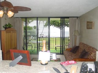 Haleiwa condo photo - View from stove