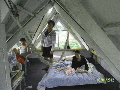 ....Attic as Sleeping Area