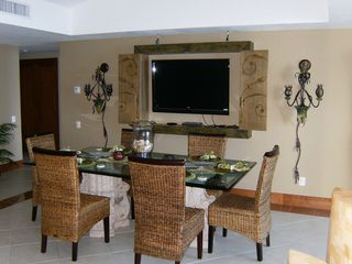 Puerto Vallarta condo photo - Flat Screen TV in Living/Dining Area