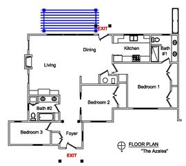 Saugatuck / Douglas cottage photo - Floor Plan