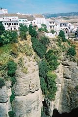 Cortes de la Frontera villa photo - Historic city of Ronda, located on top of an impressive gorge, 45 minutes by car
