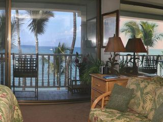 Lahaina condo photo - The fresh Hawaiian d?cor offers comfort and beauty