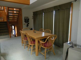 Carrabassett Valley condo photo - Upper unit: Dining room area off the living room and kitchen