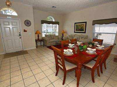 Formal dining room for family meals together