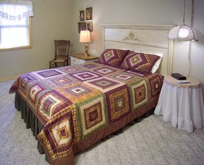 3rd & 4th bedrooms, on the lower level, have the same great pillowtop mattresses - Branson cabin vacation rental photo