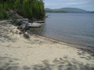 Newfound Lake chalet photo - Shared Assoc. Beach