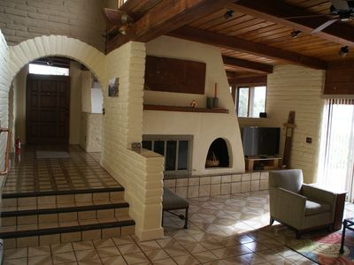 Passive Solar Adobe Home in a Private Rural Setting yet Close to Town