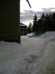 Newry condo photo - Ski down the courtyard onto the Sundance trail