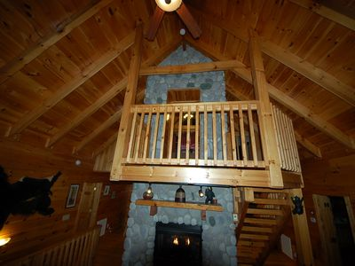 Gatlinburg cabin rental - Entrance to Private Loft
