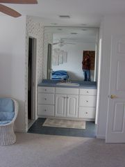 Upstairs Bathroom w/walk-in closet - Montauk house vacation rental photo