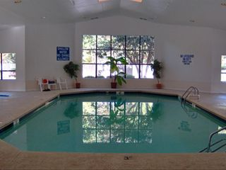 Port Royal villa photo - The indoor pool with spa to the left. A real beauty!