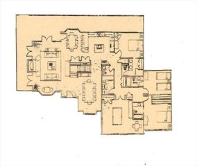 Park City house photo - Floor plan for main level