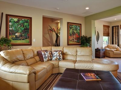 Relax in comforable and air-conditioned living room