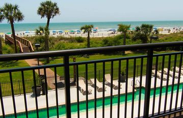 BALCONY VIEW OF BEACH/OCEAN