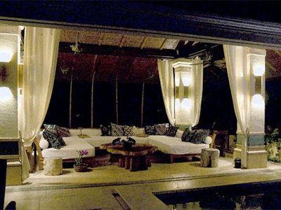 Dominical villa rental - Pavilion by Night
