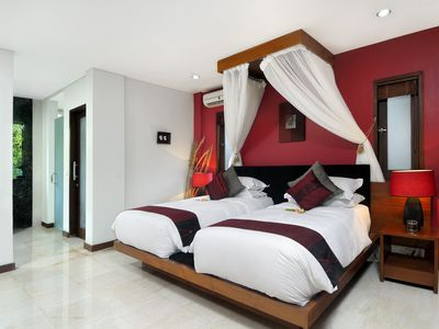 Villa Delapan GF Bedroom Twin
