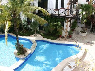 Playa del Carmen condo rental - Pool