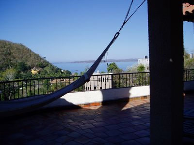 La Manzanilla villa rental - View of the ocean.
