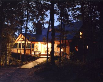 Jamestown cabin rental - Cozy enough for two -- big enough for ten