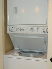 Palmetto Dunes condo photo - Commercial, heavy duty, large capacity washer/dryer is inside the condo.