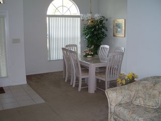 Orange Tree house photo - Dining Room area off the kitchen for easy entertaining with family and friends