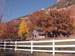 Durango farmhouse photo - Hugh pasture to run in!