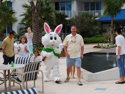 Come spend your holidays with us, even the Easter bunny does.