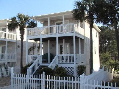 Mexico Beach house rental - Front of house