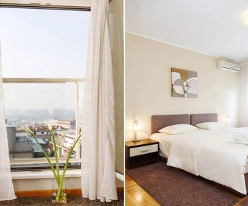 2 Bedroom Apartment MOSCOW with a RIVER VIEW!
